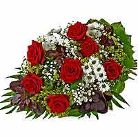 Charming Bundle of Red Roses